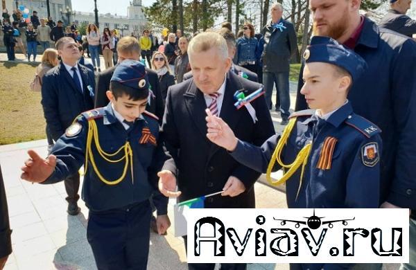 Хабаровск празднует День весны итруда