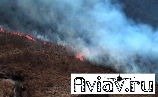 Летчики ВВОоказались напередовой борьбы слесными пожарами