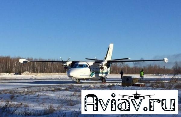 Самолет L-410 «Хабаровских авиалиний» потерпел катастрофу при заходе на посадку