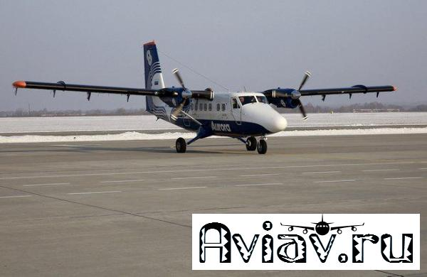 Парк «Авроры» пополнился третьим самолетом Twin Otter