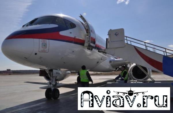 Авиакомпания «Якутия» полетела в Японию на самолете Sukhoi Superjet 100