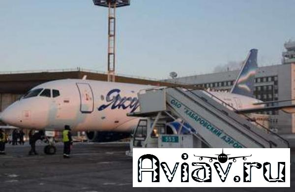 Авиакомпания «Якутия» выполнила первый рейс на самолете Sukhoi Superjet 100
