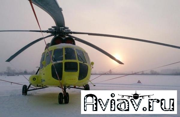 «ЮТэйр» приняла шесть новых вертолетов Ми-8АМТ