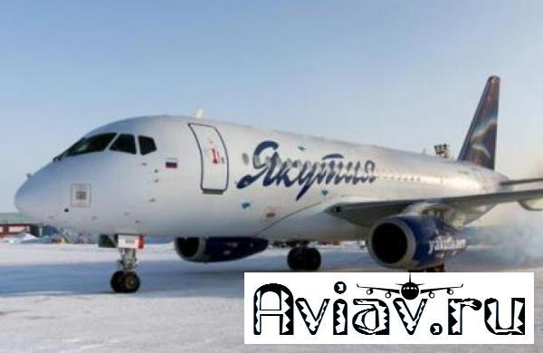Авиакомпания «Якутия» налетала 2660 часов на самолетах SSJ 100