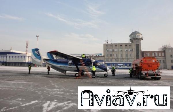 Магаданская авиакомпания «СиЛА» забазировалась в Томске